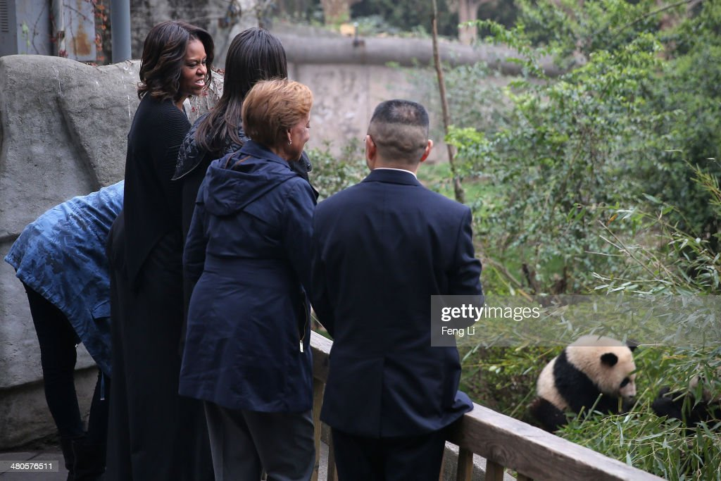 First Lady Michelle Obama Travels to China - Day 7