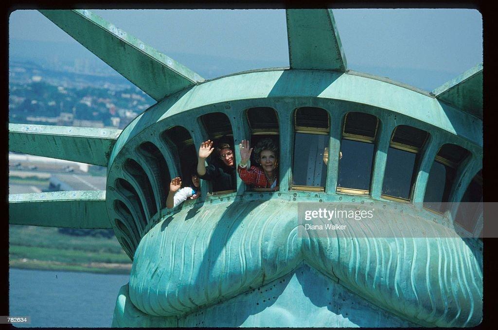 Statue Of Liberty Celebration : News Photo