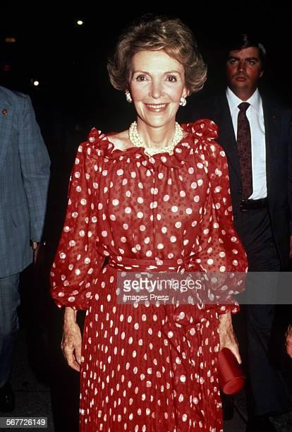 First Lady Nancy Reagan circa the 1980s
