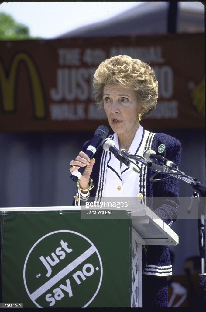 Nancy Reagan : News Photo