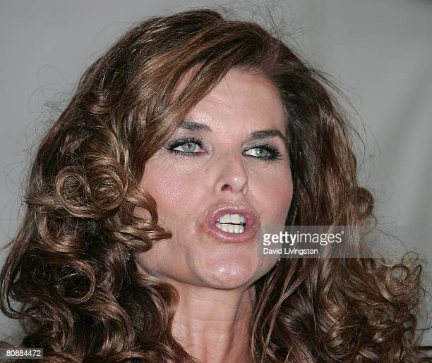 First Lady of California and author Maria Shriver attends the 13th annual Los Angeles Times Festival of Books at UCLA on April 27 2008 in Los Angeles...