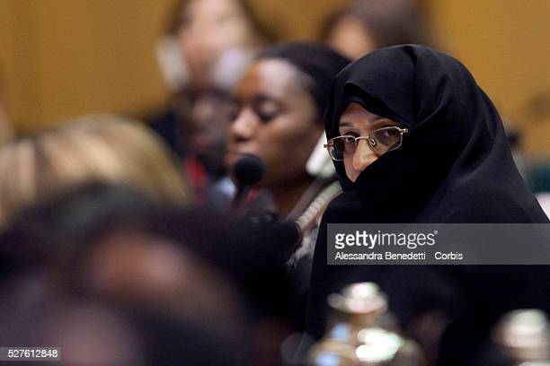 First Lady of Iran HE Mme Ahmadinejad attending the Second Summit of the NonAligned Movement of First Ladies held in conjunction with the World...