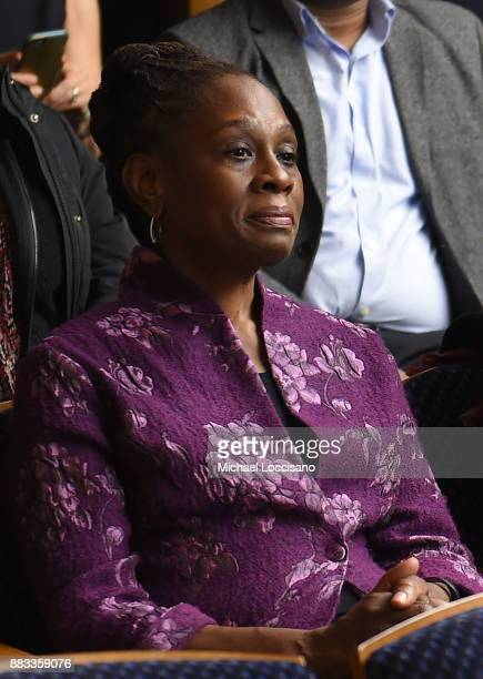 First Lady of NYC Chirlane McCray attends the NY Special Screening of the HBO Documentary Film 32 PILLS MY SISTER'S SUICIDE at Bellevue Hospital on...