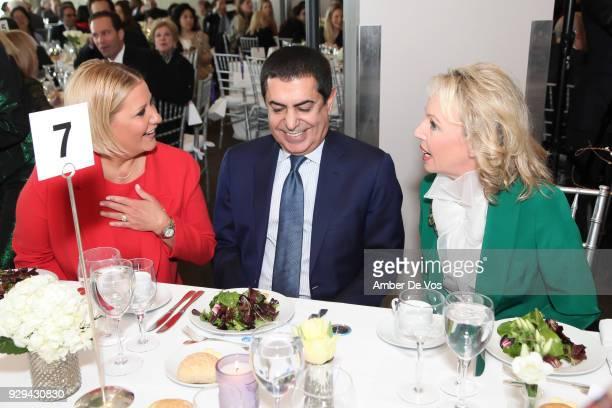 First Lady of Panama Lorena Castillo De Varela HE Nassir Abdulaziz AlNasser and HRH Princess Camilla of Bourbon Two Sicilies Duchess of Castro attend...