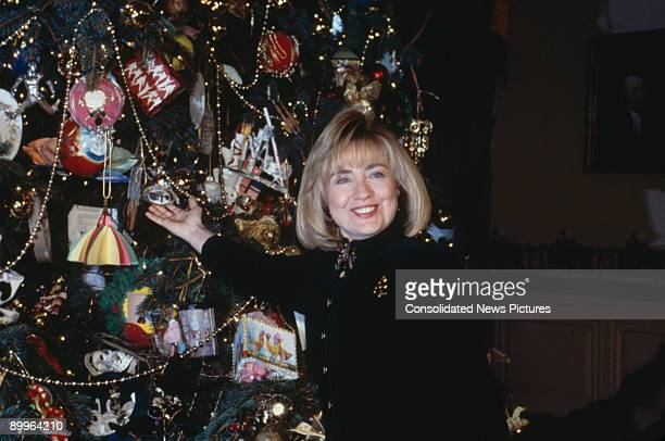 Hillary Clinton Christmas.World S Best Hillary Clinton Christmas Stock Pictures