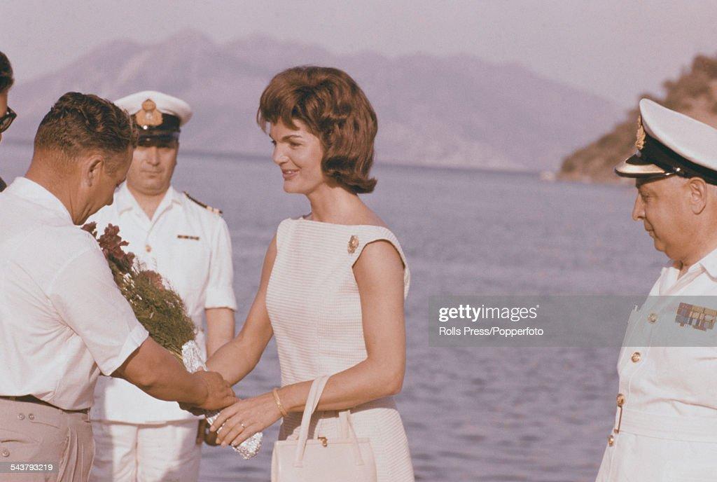 Jackie Kennedy In Greece : News Photo