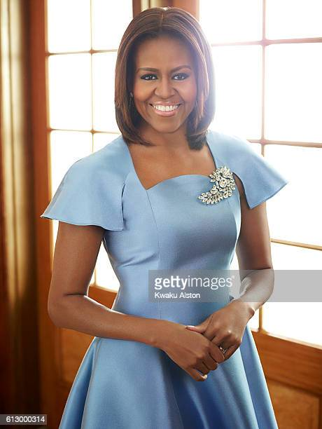 First Lady of the United States of American Michelle Obama is photographed for Essence Magazine on May 27 2011 in Washington DC