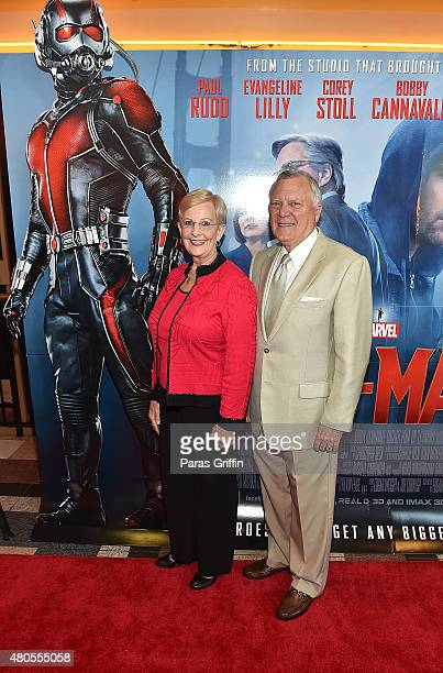 First Lady Sandra Deal and Georgia Governor Nathan Deal attend 'AntMan' Atlanta Cast And Crew Screening at Regal Atlantic Station 18 on July 12 2015...