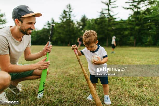 First lessons about baseball