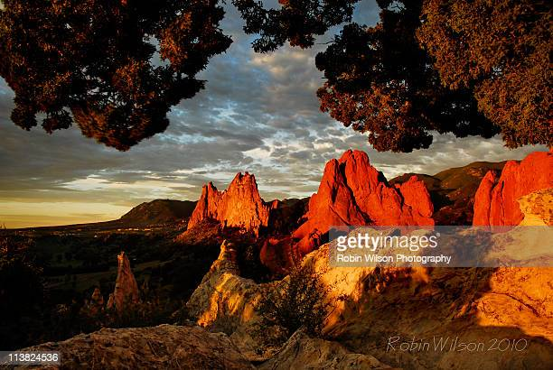 First Light At The Garden Of The Gods