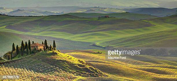 First light in Tuscany