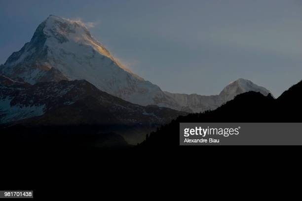 First Light on Annapurna South