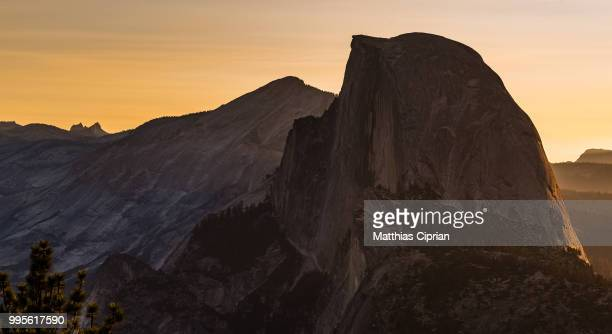First Light on Half Dome