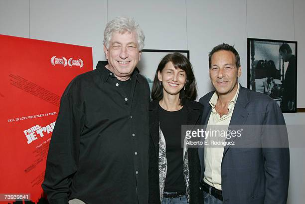 """First Look Pictures executives Avi Lerner, Ruth Vitale and Henry Winterstern attend the First Look Pictures premiere of """"Paris, Je T'Aime"""" at the..."""
