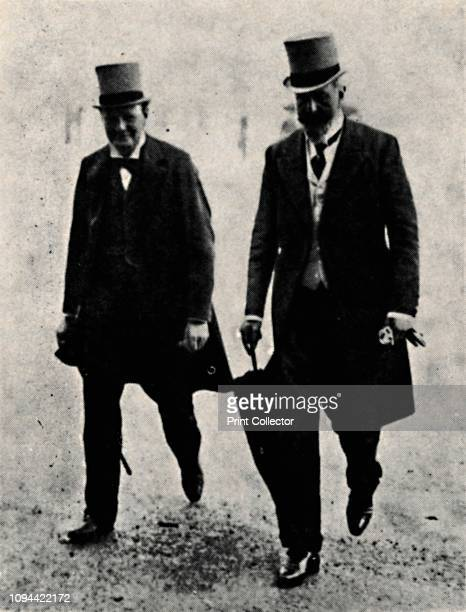 First Lord of the Admiralty and First Sea Lord' . British politicians Sir Winston Churchill , First Lord of the Admiralty, and Prince Louis of...
