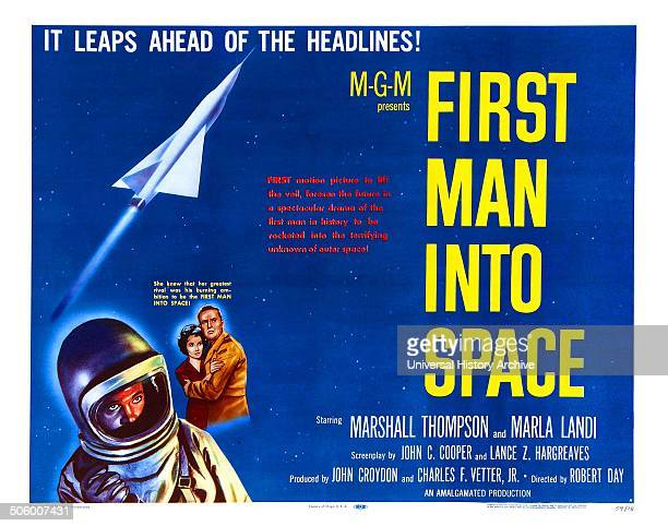 First Man Into Space a 1959 science fiction horror starring Marshall Thompson and Marla Landi