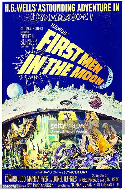 First Men in the Moon a 1964 British science fiction film starring Edward Judd Martha Heyer and Lionel Jeffries