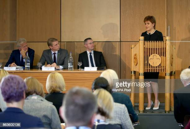 First Minister Nicola Sturgeon addresses Scotland's Inclusive Growth Conference as she outlines how reducing inequality and creating a fairer society...