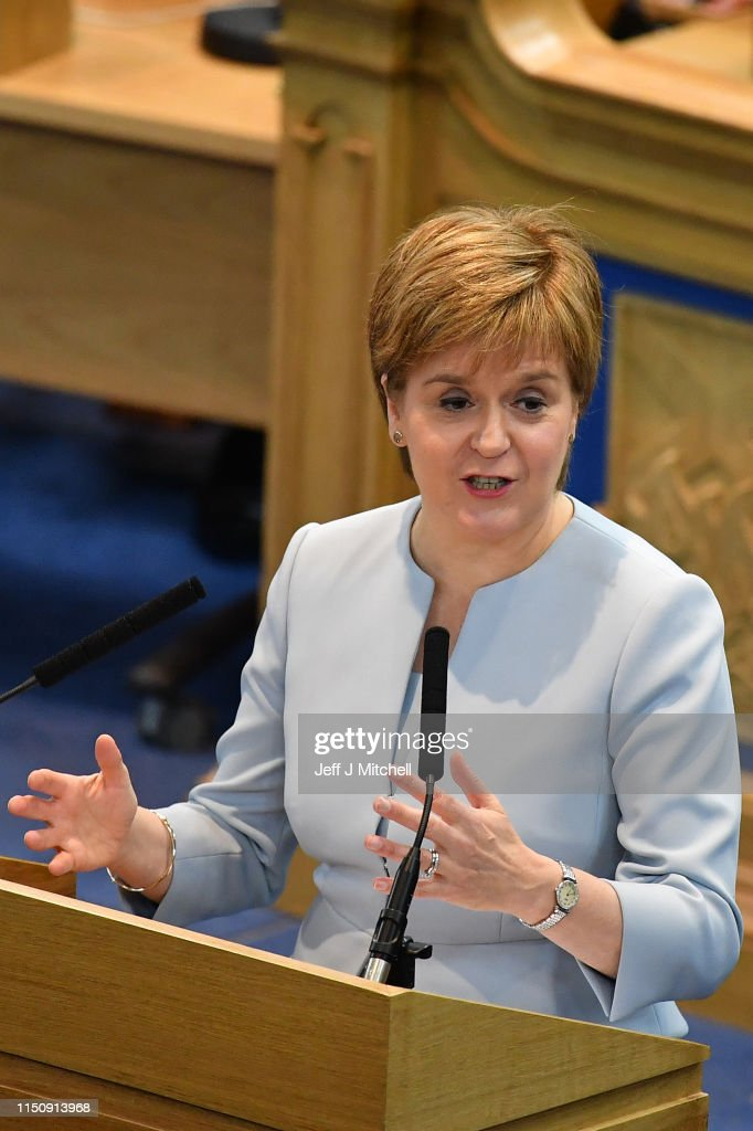 GBR: Nicola Sturgeon Addresses The Church Of Scotland's General Assembly