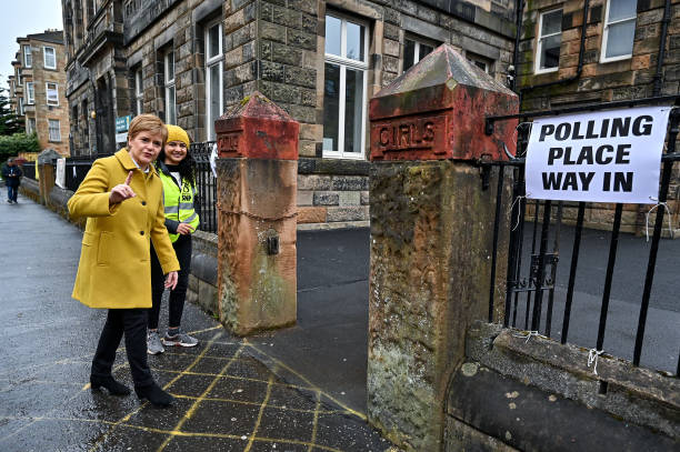 GBR: Scottish Voters Go To Polls In The 2021 Holyrood Elections