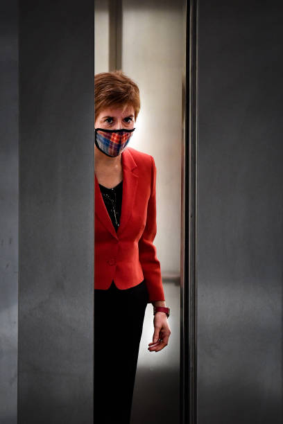 GBR: Nicola Sturgeon Takes First Minister's Questions