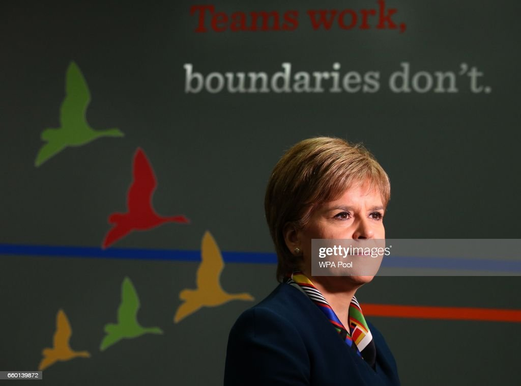 Nicola Sturgeon On The Day Article 50 Is Triggered