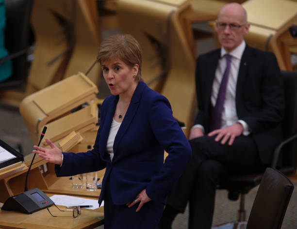 GBR: First Minister's Questions In Scottish Parliament