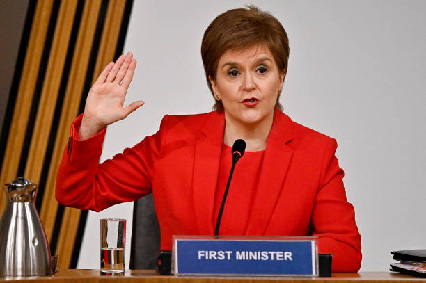 GBR: Nicola Sturgeon Appears At Inquiry Into Scottish Government's Handling Of Complaints Against Former First Minister