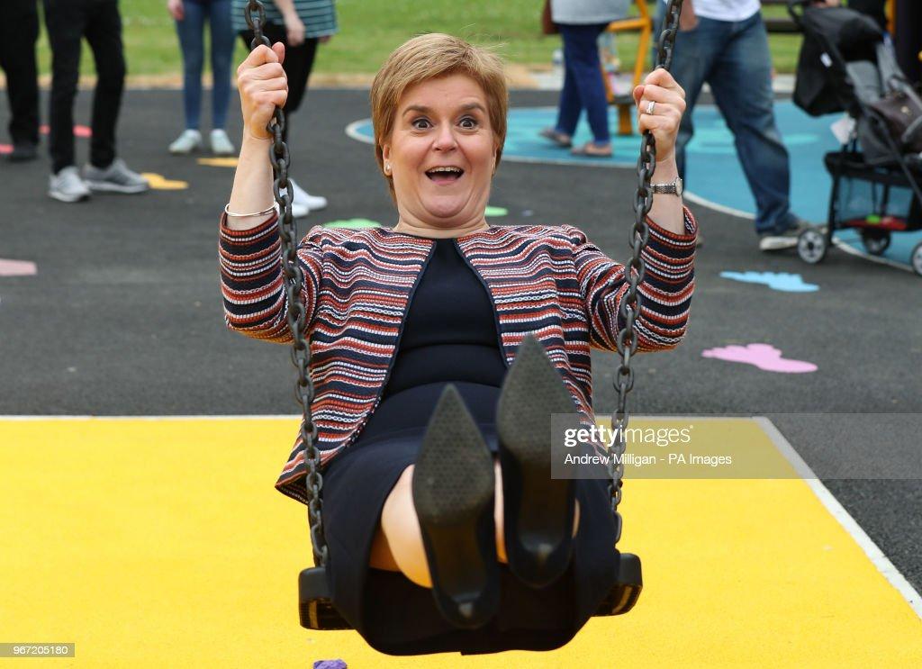 Scotland First Minister : News Photo