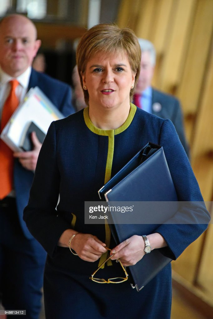Nicola Sturgeon Answers First Minister's Questions