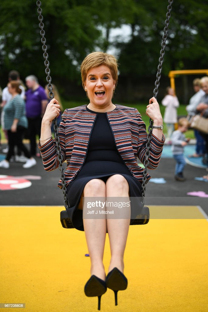 Nicola Sturgeon Opens Play One Park For Differently-abled Children