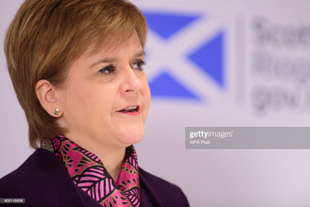 Nicola Sturgeon Attends Launch of Paper Detailing Scotland's Future Relationship With Europe