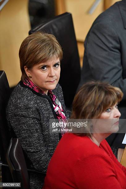 First Minister Nicola Sturgeon updates the Scottish Parliament following unveiling proposals for Scotland's future relations with Europe after Brexit...