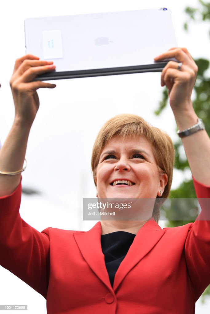 GBR: Scotland's First Minister Makes Major Job Announcement
