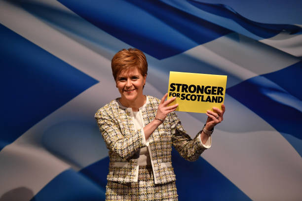 GBR: Nicola Sturgeon Launches The SNP's Election Manifesto