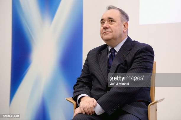 First Minister of Scotland and leader of the Scottish National Party Alex Salmond launches a 200 page report setting out the economic case for...