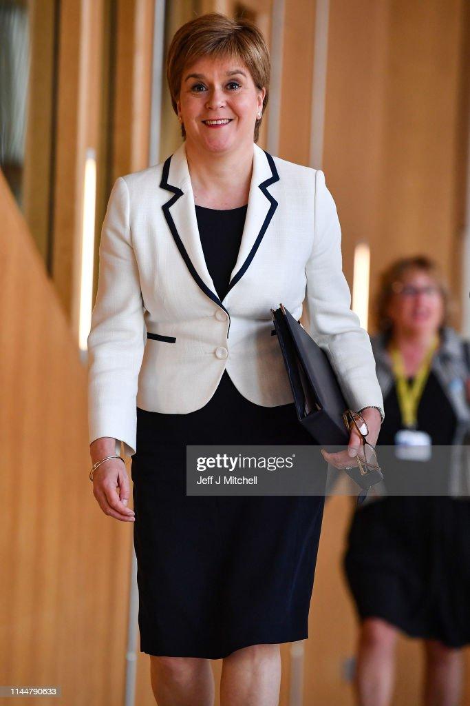 GBR: Scottish First Minister Makes Statement on Independence Referendum