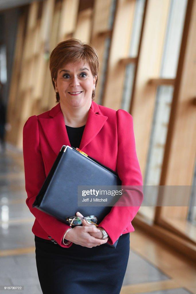Nicola Sturgeon Takes FMQs