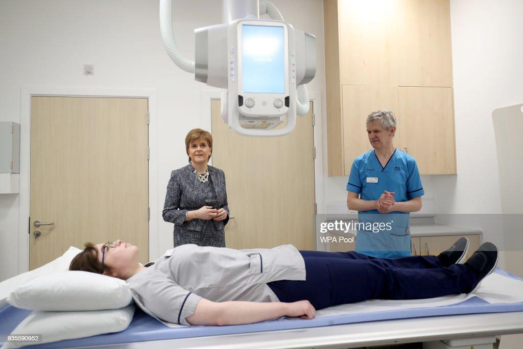 Nicola Sturgeon visits East Lothian Community Hospital
