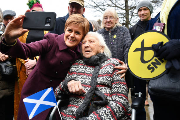 GBR: Sturgeon Campaigns With Midlothian SNP Candidate