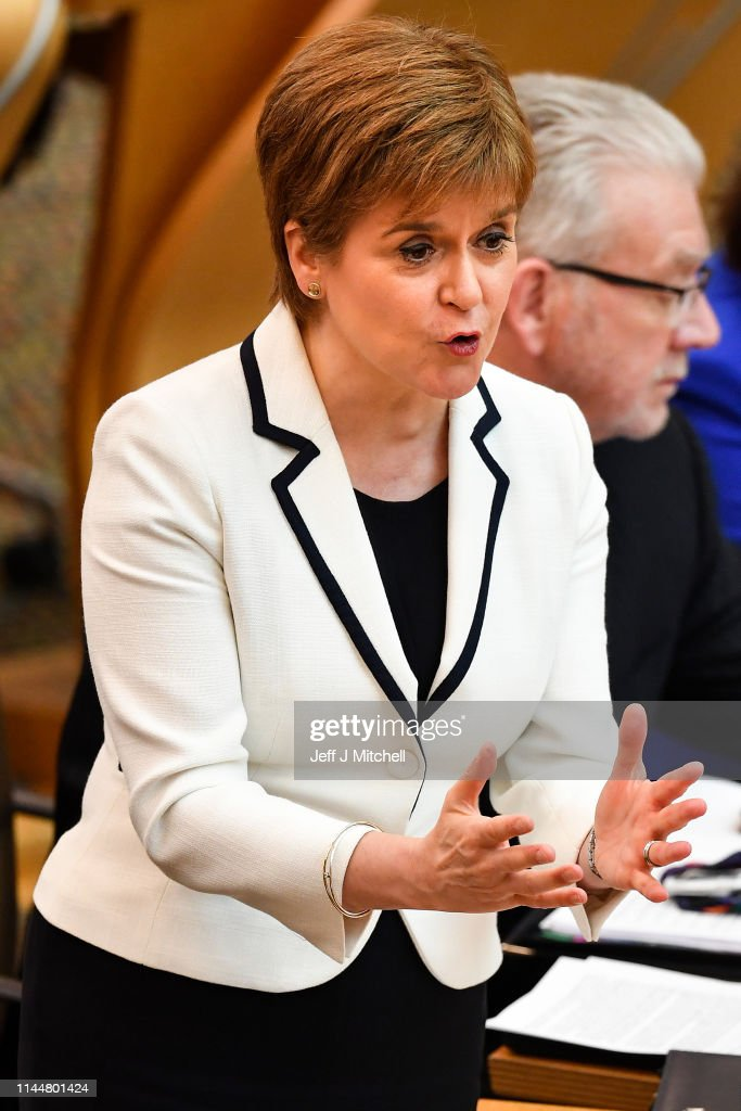 GBR: Scottish First Minister Makes Statement on Independence Referendum