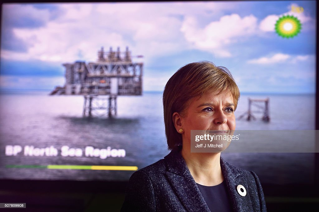 Scotland's First Minister Visits BP Headquarters