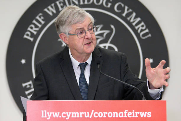 GBR: First Minister Of Wales Plans Further Easing Of  Lockdown