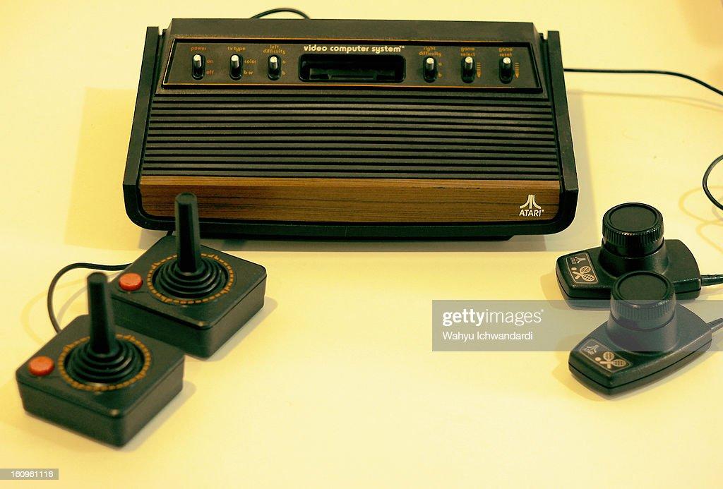 1977 Atari 2600 Sunnyvale : News Photo