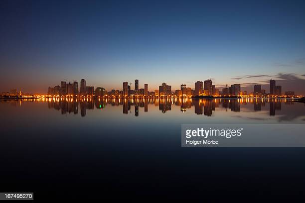 first morning - sharjah - emirate of sharjah stock pictures, royalty-free photos & images
