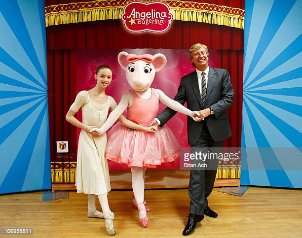 First national scholarship recipient Catherine Hurlin Angelina Ballerina and Nigel Lythgoe Executive Producer to 'American Idol' and 'So You Think...
