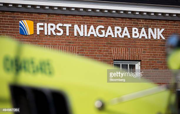 A First Niagara Financial Group Inc branch stands in Rochester New York US on Friday Oct 30 2015 KeyCorp Ohio's secondlargest bank agreed to buy...