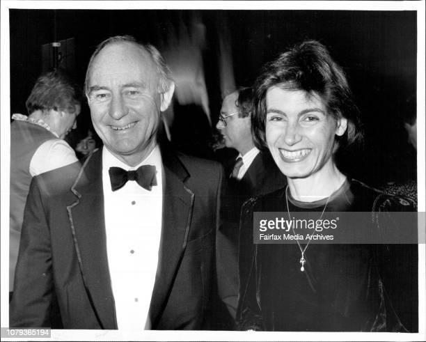 First Night of Carmen at Opera HouseKen Woolley and his wife Virginia Braden June 9 1987