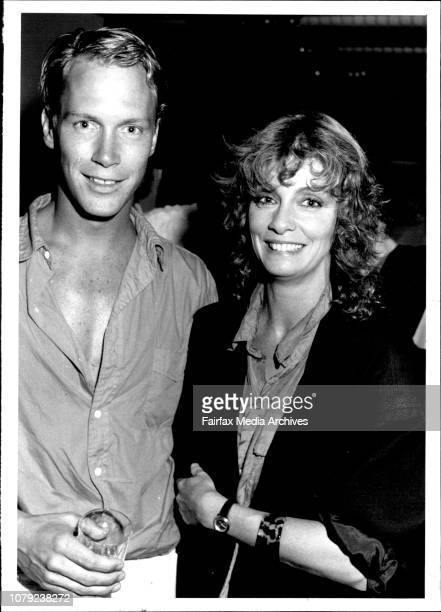 First night of 'Company' at Opera House Angela PunchMcGregor and actor Tony Todd Boyer January 15 1986