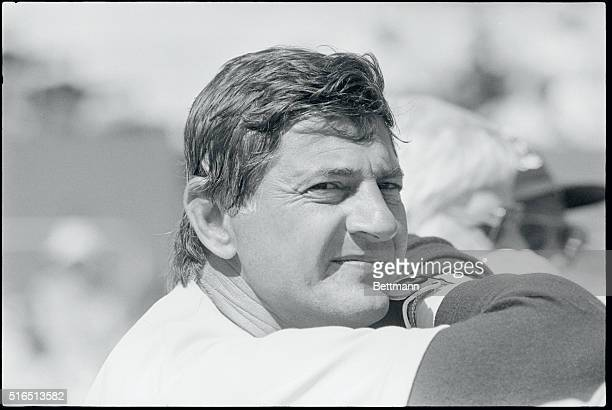 First of Five Winter Haven Florida Carl Yastrzemski who will be 44 in August looks at the Boston Red Sox training camp here This will be Yaz' 22nd...
